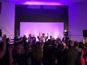 Festband spiller til fest på Hotel i Rebild Bakker.