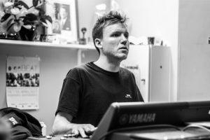 Mathias Thunbo ved Yamaha CL5 mixer fra Rocklyd til Rock The Region.