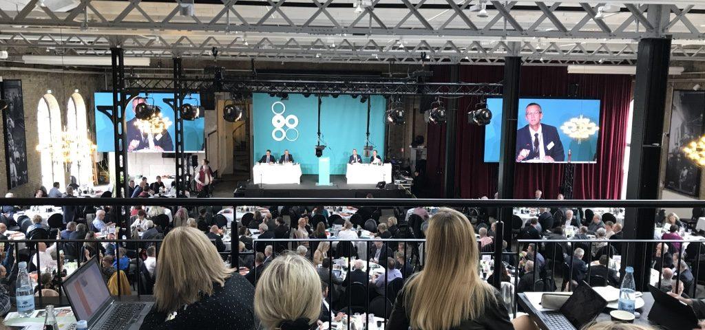 Billede fra Danske Regioners Generalforsamling 2017