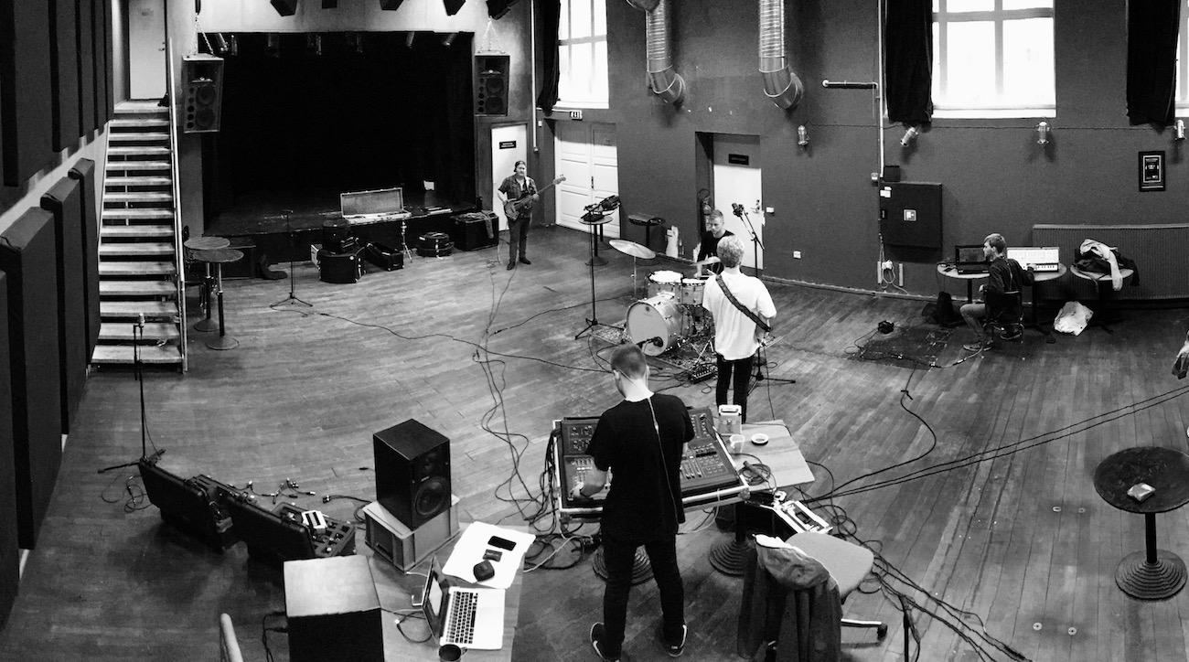 Billede fra nord nord nord indspilning på Scene 7 i Herning. Indspilning af kommende single.