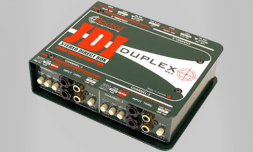 Passiv stereo Direct Input box fra Radial Engineering.