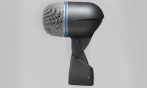 Storetromme mikrofon Shure Beta 52.