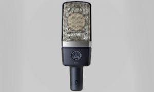 AKG C214 stormembran mikrofon. Et styk på billedet.