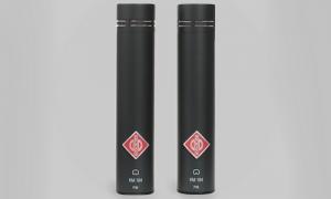 Stereo matched par Neumann KM184 mikrofoner. 2 styk.