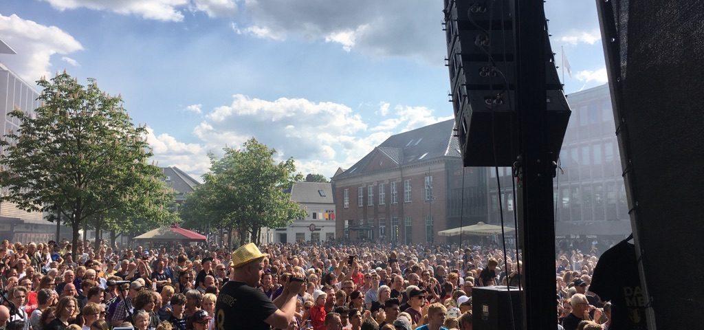 FCM guldfest på Herning Torv 2018