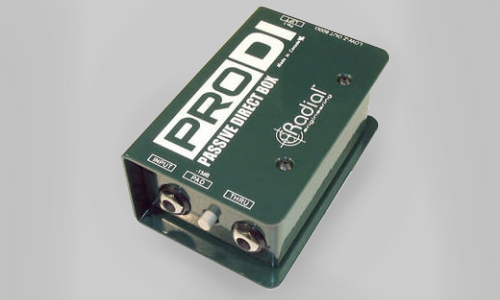 Radial Pro Direct box